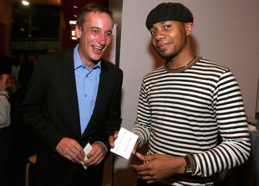 Mark Murphy and DJ Spooky at the &quot;Rebirth Of A Nation&quot; Presented By Redcat.